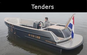 aluminium tenders zijn de luxe aluminium boten ontworpen door van vossen tenders