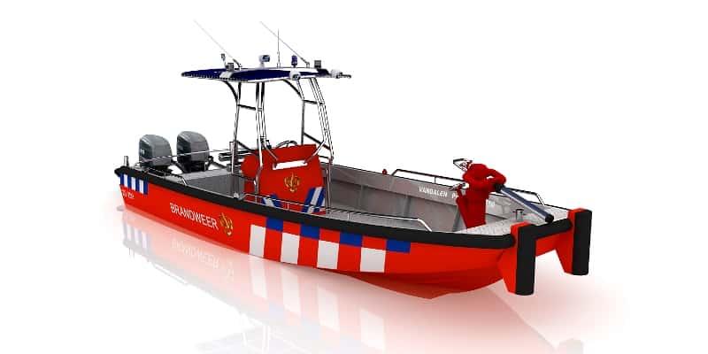 Jon boat Pro-Worker 750, gemaakt voor ruig water