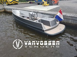 Van Vossen Tender 595 van aluminium