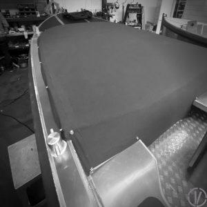 Van Vossen Tenders aluminium boot 595