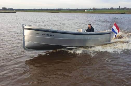 Mooie aluminium sloep voor in Groningen