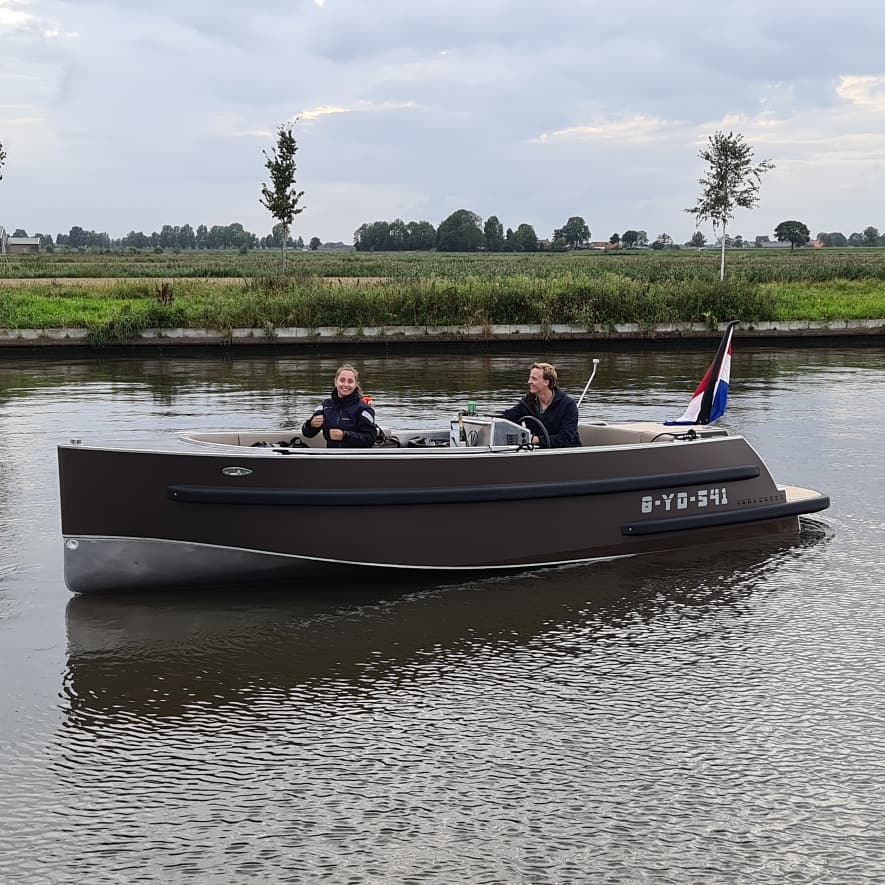 aluminium boot kopen vlakbij Aalsmeer