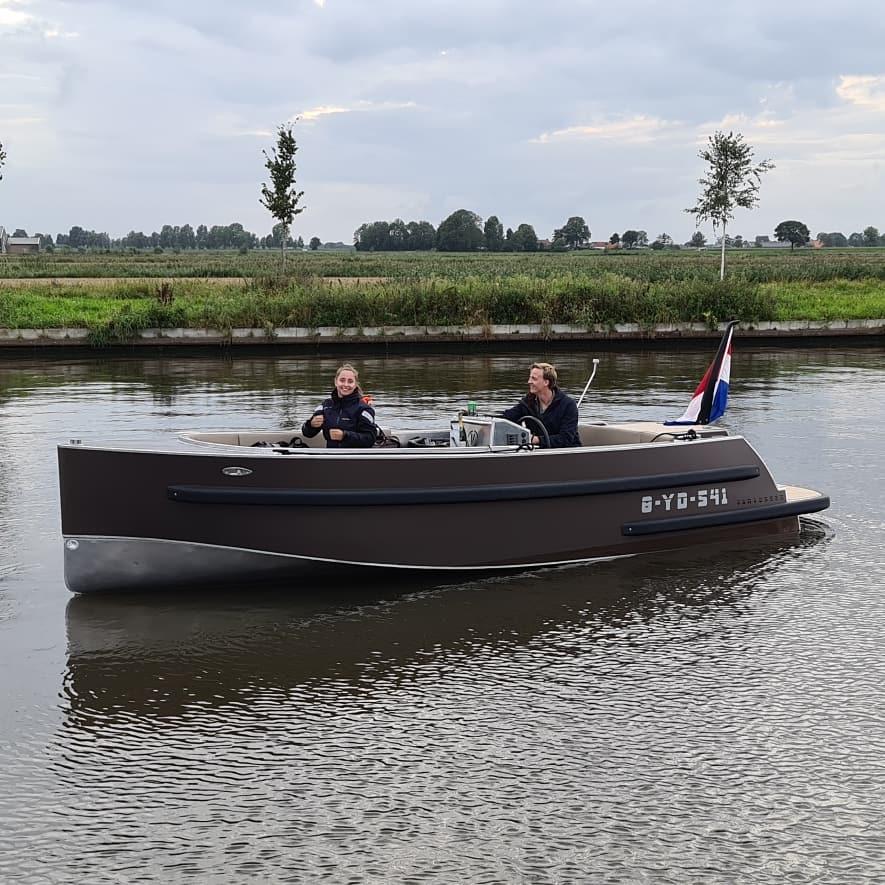 Verschillende typen boten voor Leeuwarden